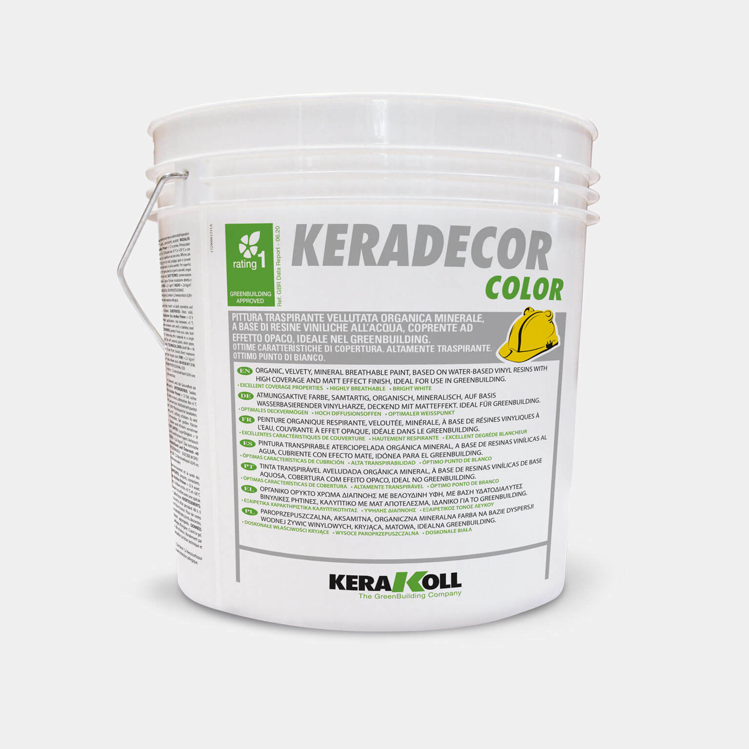 Keradecor color rating 1