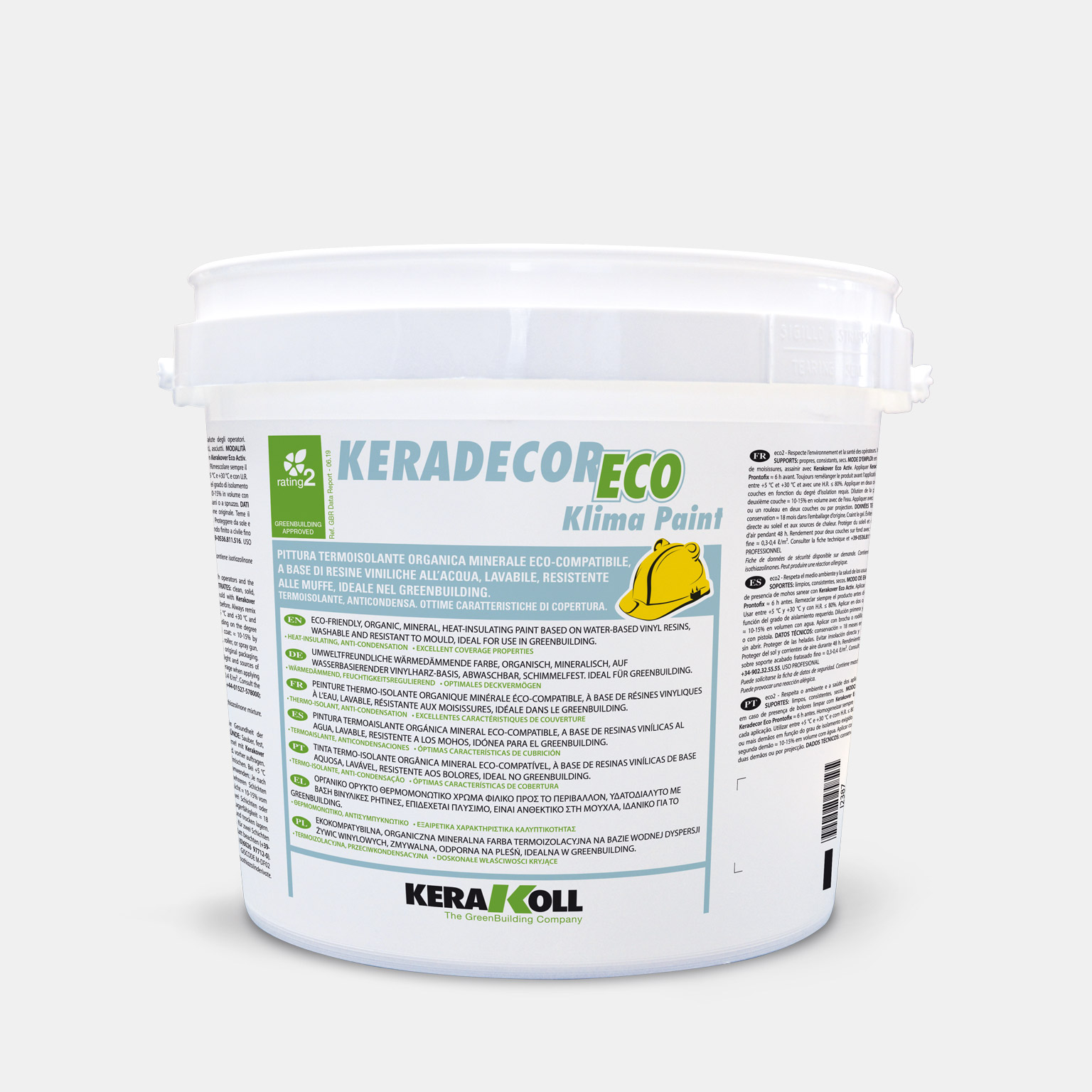 Keradecor Eco Klima Paint - immagine pack