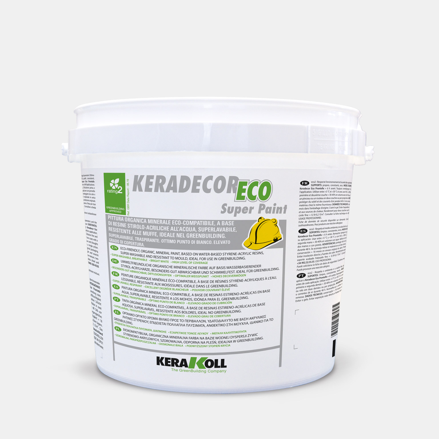 Keradecor Eco Super Paint - immagine pack