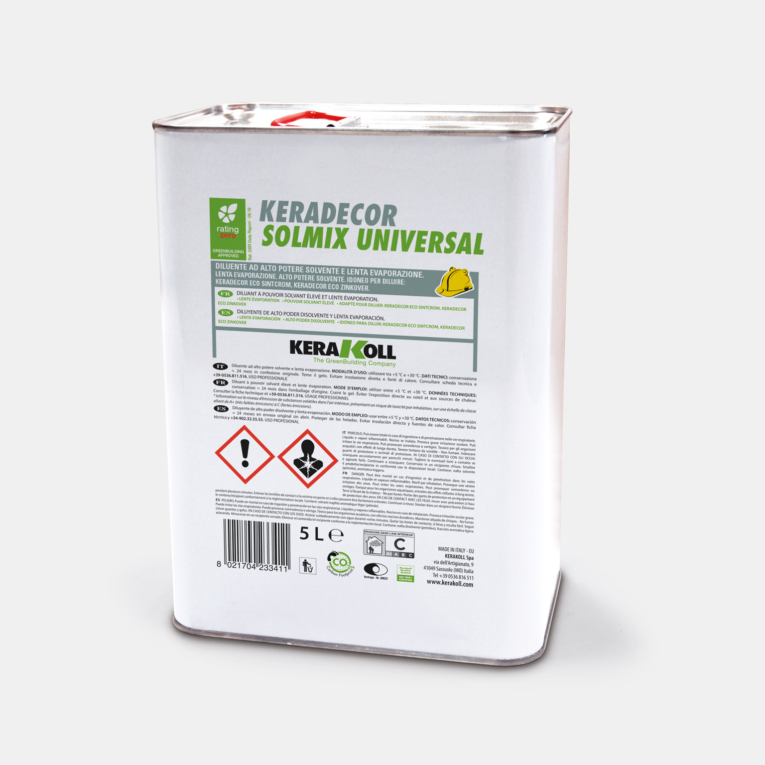 Keradecor Solmix Universal - immagine pack