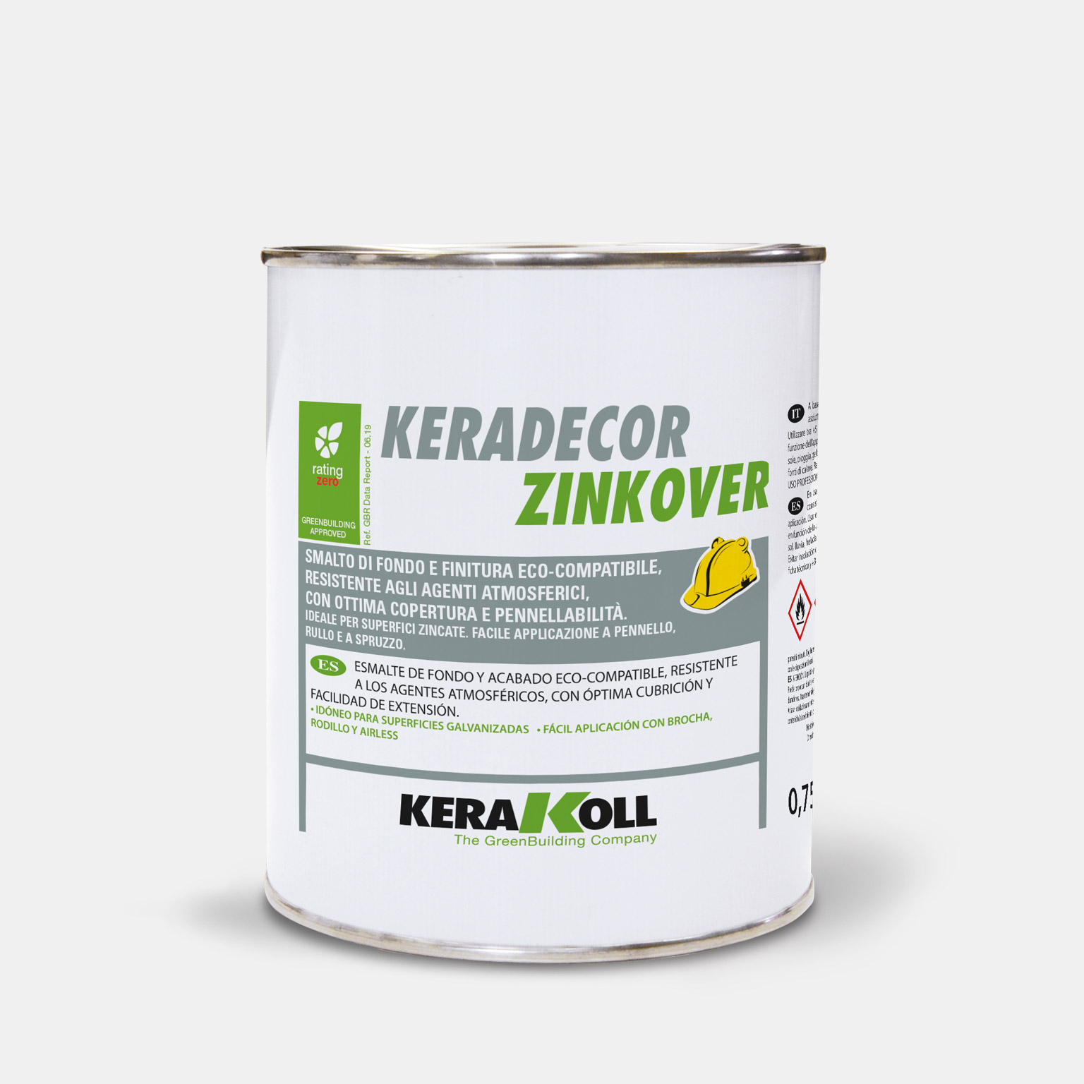 Keradecor Zinkover - immagine pack