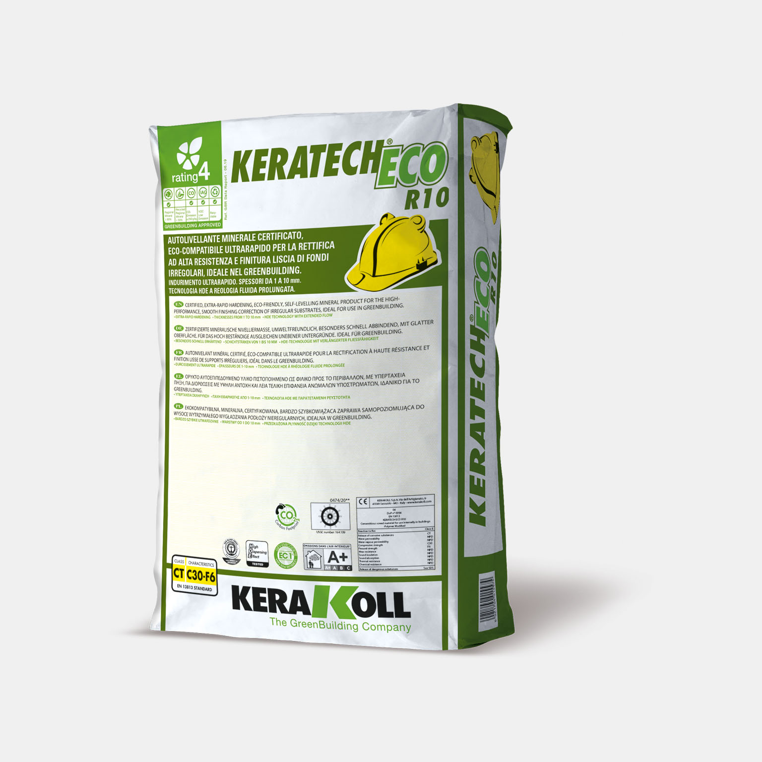 Keratech Eco R10 - immagine pack