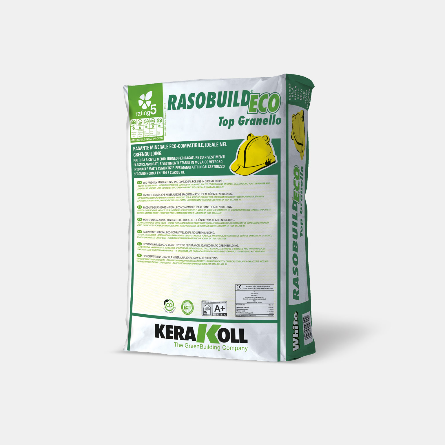 Rasobuild Eco Top Granello - immagine pack